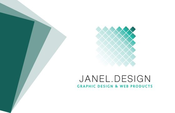Janel.Design Business Card