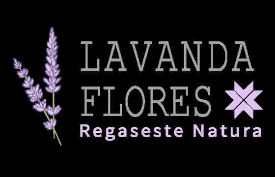 Lavanda Flores Logo